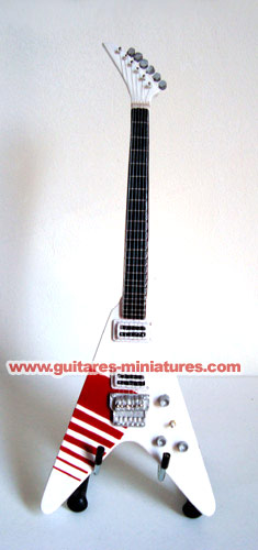 Guitare Miniature Buckethead FlyingV