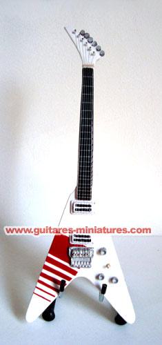 Guitare Miniature Buckethead FlyingV