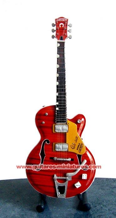 Guitare Miniature Brian Setzer Signature