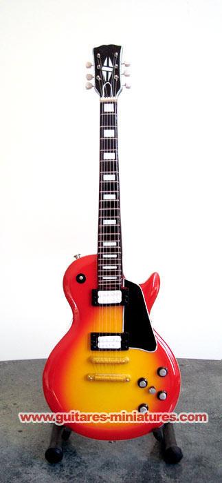 Guitare Miniature Frank Zappa Gib Les Paul