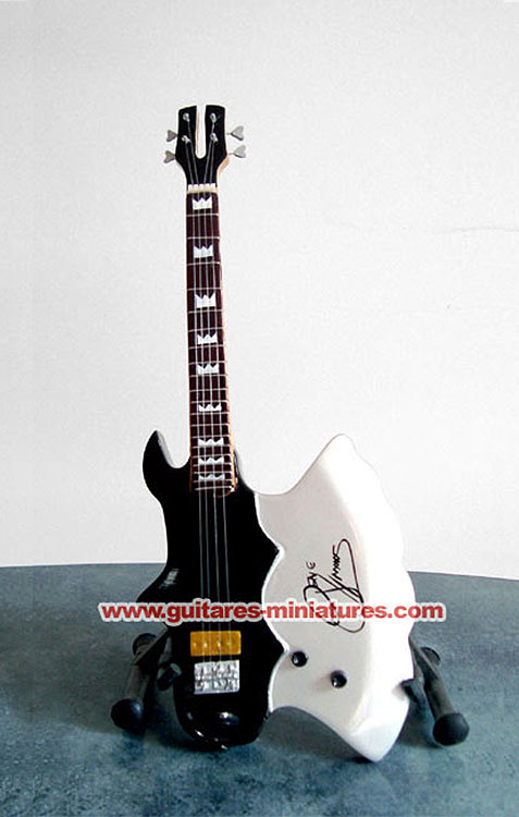 Guitare Basse Miniature Gene Simmons signature
