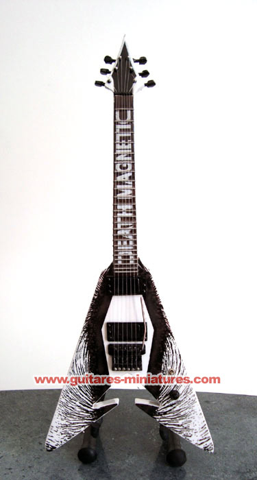 Guitare Miniature Kirk Hammett Death Magnetic