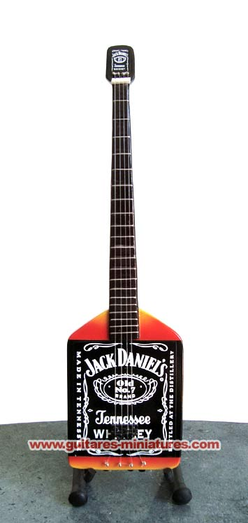 Guitare Miniature Michael Anthony Jack Daniel's Bass