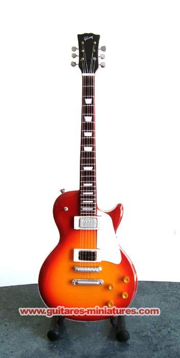 Guitare Miniature Jimmy Page Sunburst Solid Body