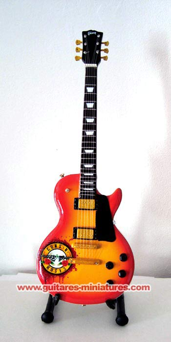 Guitare Miniature Slash Guns n Roses