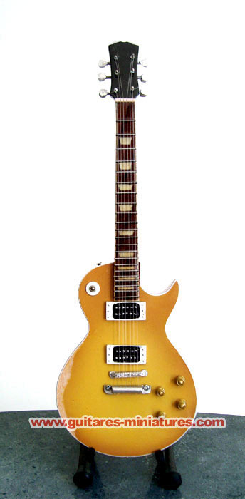 Guitare Miniature Slash Gib Aged LP Custom