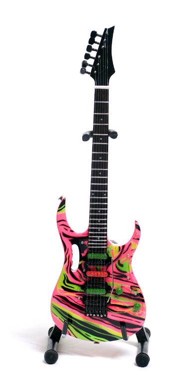 Guitare Miniature Steve Vai JEM Swirl