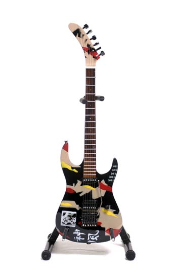 Guitare Miniature George Lynch Kamikaze Signature