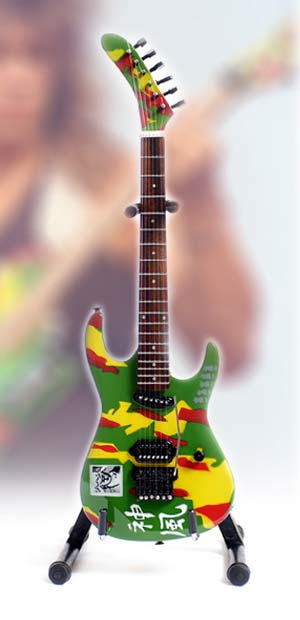 Guitare Miniature George Lynch Kamikaze 4 Signature