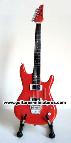 Guitare Miniature Joe Satriani Signature