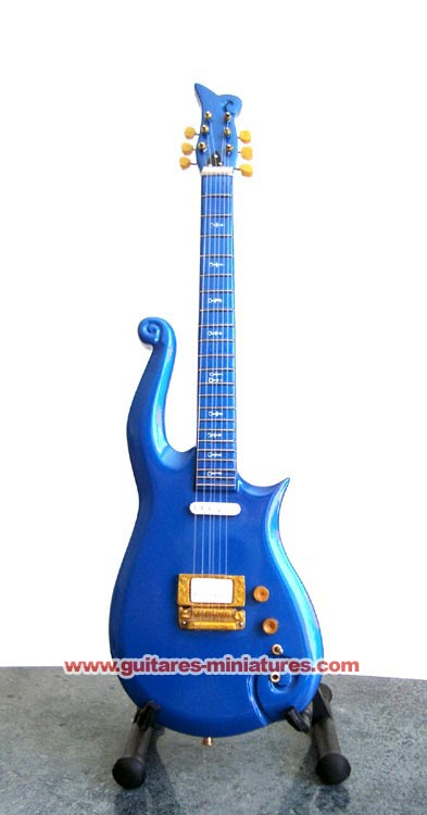 Guitare Miniature Prince Blue Cloud Guitar