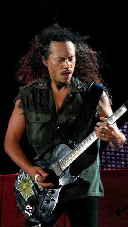 Guitare Kirk Hammett Metallica - spider