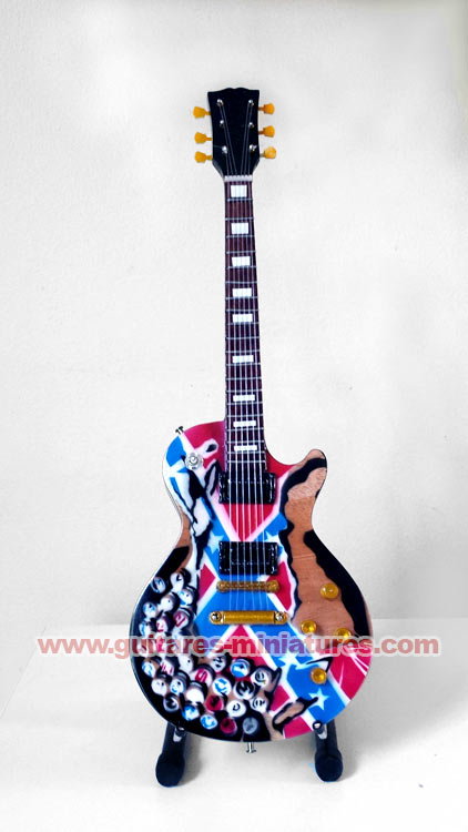 """Guitare Miniature Zakk Wylde """"Beer Caps"""""""