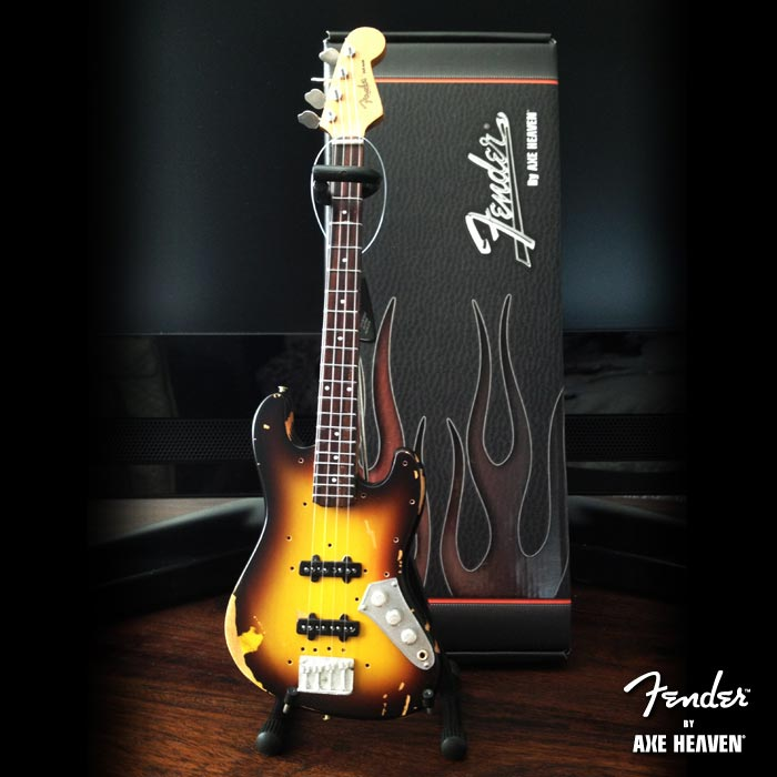 Guitare Basse Miniature - Officially Licensed Jaco Fender Jazz Bass