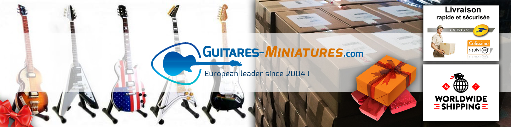 Collectible Rock Star Miniature Musical Instruments Online Store